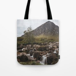 Famous Etive Mor - Landscape and Nature Photography Tote Bag