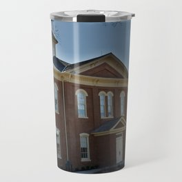 Cherokee Nation - Capitol in Tahlequah, No. 1 of 3 Travel Mug