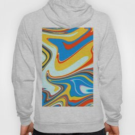 Colorful Marble Abstract Art Pattern 003 Hoody