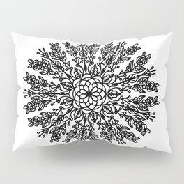 Floral mandala Pillow Sham