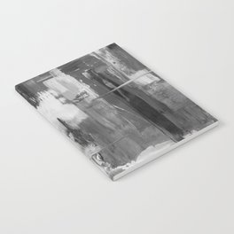 Paint (Black and White) Notebook