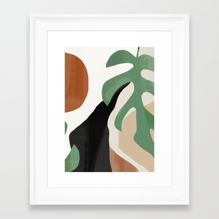 Abstract Art 37 Framed Art Print
