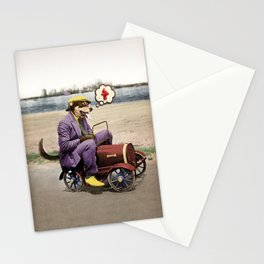 Barkin' Down the Highway! Stationery Cards