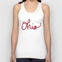 ohio Tank Tops featuring Ohio by Alisha Williams
