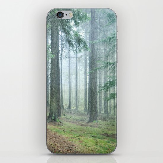 deep in thoughts iPhone & iPod Skin