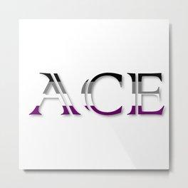 ACE Metal Print