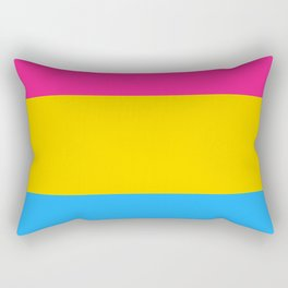 Symbol of Pansexuality or Omnisexuality Rectangular Pillow