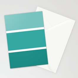 Teal Trip Stationery Cards