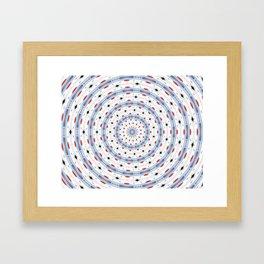SNOW CHAIN Framed Art Print