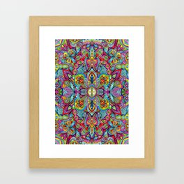 Full of dreams Framed Art Print