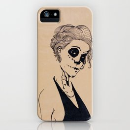 Don't mess with the dead iPhone Case