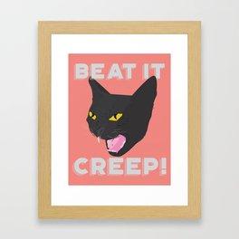 CREEP Framed Art Print