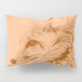red fox digital acryl painting acrcb Pillow Sham