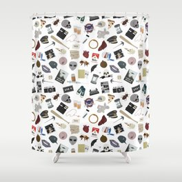 The XF Episodes Shower Curtain