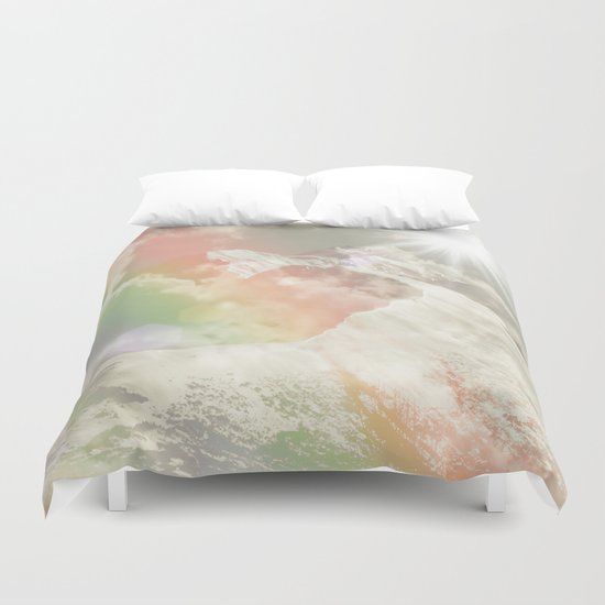 Mountains in The Sky Duvet Cover