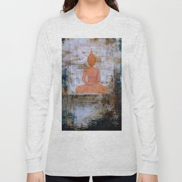 Buddha Mandala Long Sleeve T-shirt