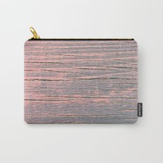 Rustic pastel weathered wood Carry-All Pouch