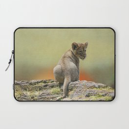 Lion Cub King Laptop Sleeve