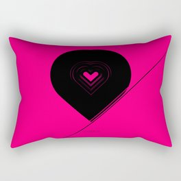 CRYPTIC HIPSTER HEART. Rectangular Pillow