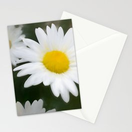 Daisies flowers in painting style 11 Stationery Cards