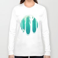 lonely Long Sleeve T-shirts featuring Lonely Dream by Robson Borges
