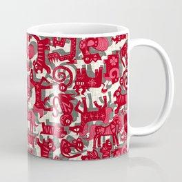 chinese animals red Coffee Mug