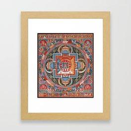 Mandala of Jnanadakini Framed Art Print