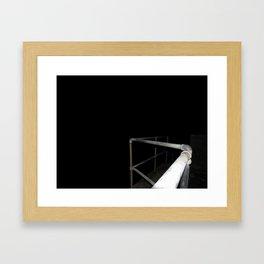 My Guide to the Dark Side Framed Art Print