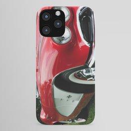 Red Corvette iPhone Case