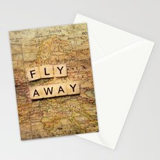 fly away-2 Stationery Cards