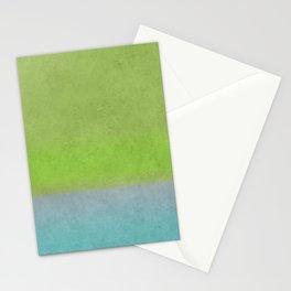 Green greenery greenish Stationery Cards