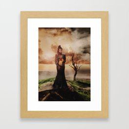 Fiery Queen Framed Art Print