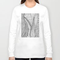quilt Long Sleeve T-shirts featuring Quilt Design by neena