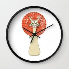 Felidae light Wall Clock