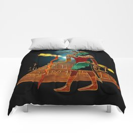 Ancient Secrets THOTH 3D Scifi Egyptian Comforters