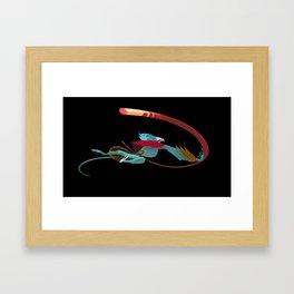 The Monkey King Attacks! Framed Art Print