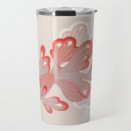 Red cap Oranda Travel Mug