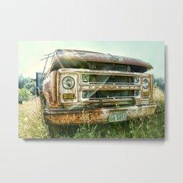 Vintage Chevy Truck Metal Print