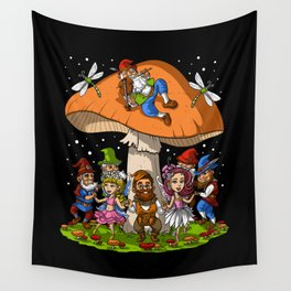 Hippie Gnomes Wall Tapestry