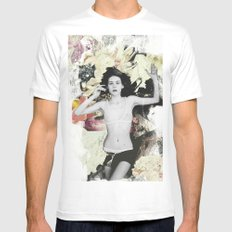 Bundenko collage Mens Fitted Tee MEDIUM White