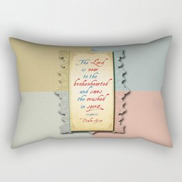 Near to the Brokenhearted Rectangular Pillow