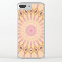Mandala Hippie Clear iPhone Case