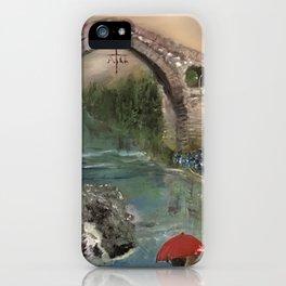 The Roman Bridge, Asturias  iPhone Case