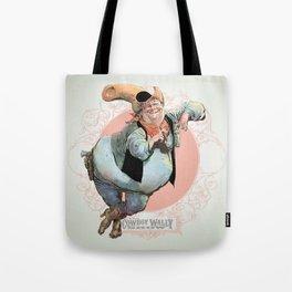 Cowboy Wally Lean Tote Bag