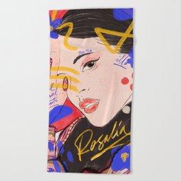 Rosalia Beach Towel