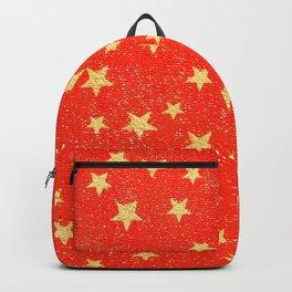Gold Stars Backpack