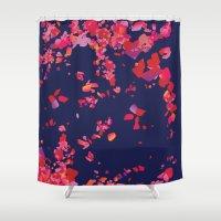 wedding Shower Curtains featuring Wedding by Bomburo