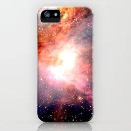 Space Nebula iPhone Case