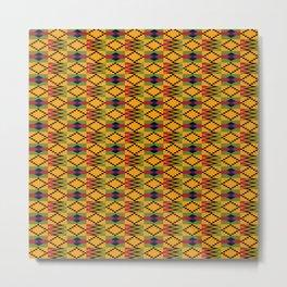 African kente pattern 6 Metal Print