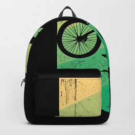BMX RETRO Funny Freesyle Biker Gift Cyclist Backpack